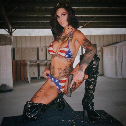 عکسهای لخت بانی راتن بازیگر پورن Bonnie Rotten