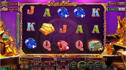 آموزش بازی Reels Of Wealth بهترین بازی ها در کازینو آنلاین